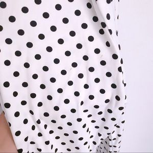 b04cd2a85b10 Caution To The Wind Pants - Black   White Polka Dot Jumpsuit ...